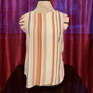 {Monteau} Striped Blouse